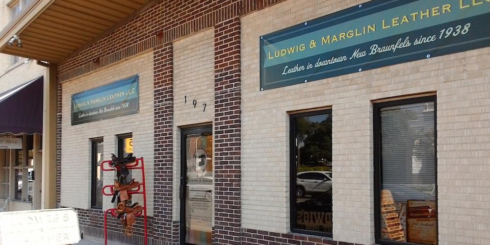 A Downtown New Braunfels Story: Ludwig's Leather - New