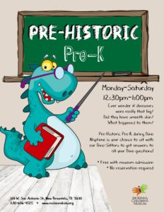 downtown new braunfels pre-historic pre-k