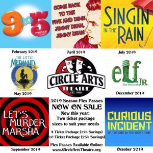 Downtown New Braunfels Circle Arts Theatre Flex Season Pass