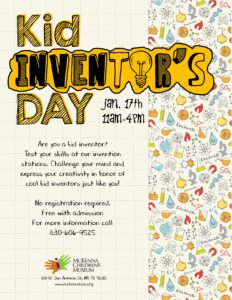 downtown new braunfels McKenna kid inventor's day