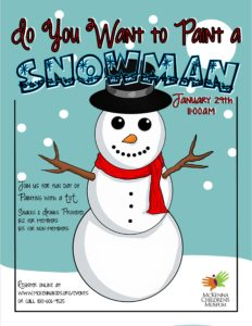 downtown new braunfels McKenna children's museum do you want to build a snowman