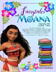 Downtown New Braunfels McKenna Children's Museum Fairytales with Moana