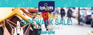 downtown New Braunfels Spring Sidewalk Sale