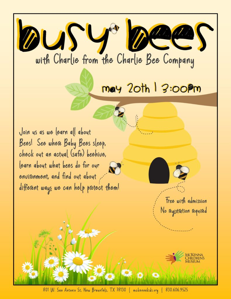 Family Fun with Bees - New Braunfels Downtown