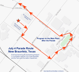 Patriotic Parade and Program - New Braunfels Downtown